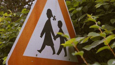 child road sign
