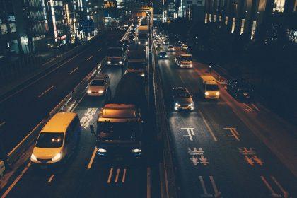 traffic driving