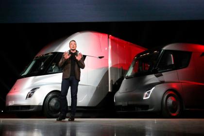 Electric Semi-Truck - Tesla