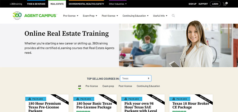 360 Training Real Estate Agent Campus