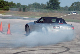 Extreme Driving Schools and Learning to Control