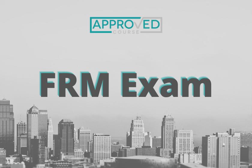 Financial Risk Management (FRM) Exam + Certification
