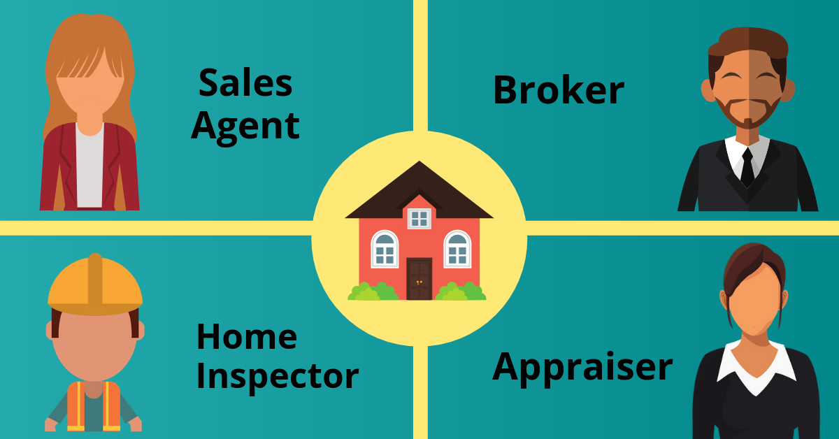 Four Types of Real Estate Professionals Certified in Texas